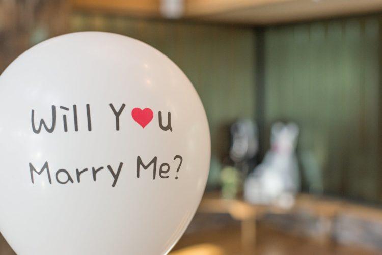 5 idées originales de demande en mariage