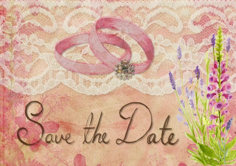 le Save The Date Mariage