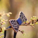 The Wood Stock : un nœud papillon en bois pour votre mariage