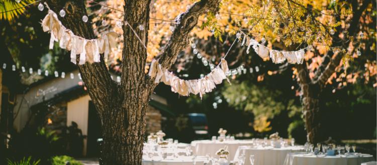 idées de menu pour un mariage champêtre