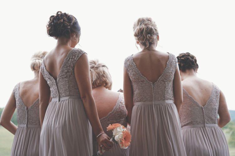 4 options pour habiller vos demoiselles d'honneur